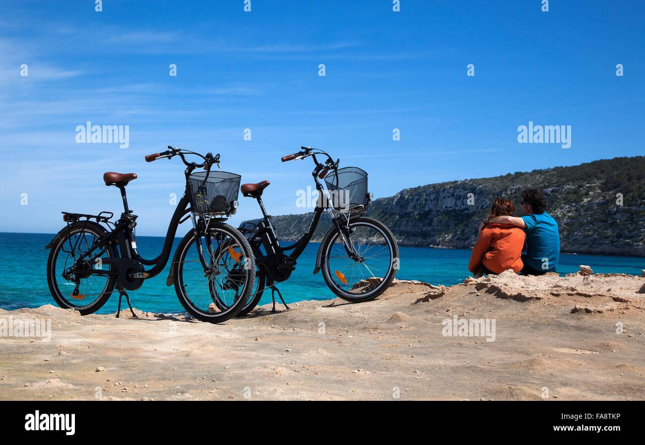 Formentera, Balearen, Spanien Stockbild