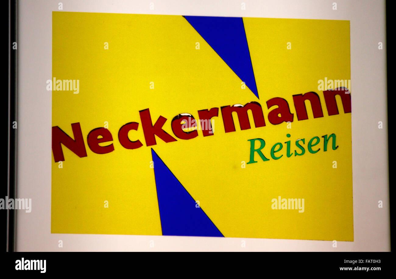 """Markenname: """"Neckermann Reisen"""", Berlin. Stockbild"""