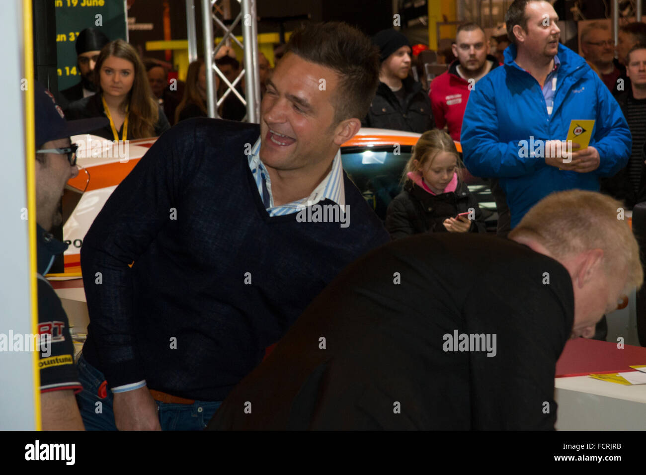 Colin Turkington bei Autosport International 2016 NEC Birmingham UK Stockbild