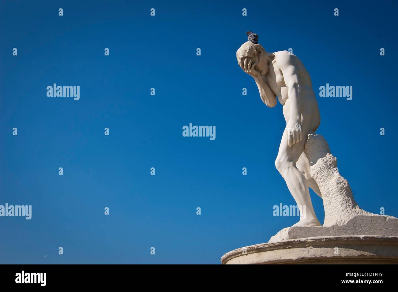 Frankreich, Paris, Skulptur im Jardin des Tuileries Stockbild