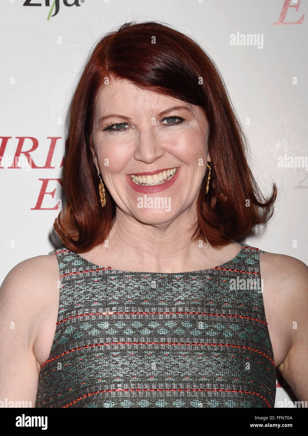 Kate Flannery, 02.12.2015 Stockbild