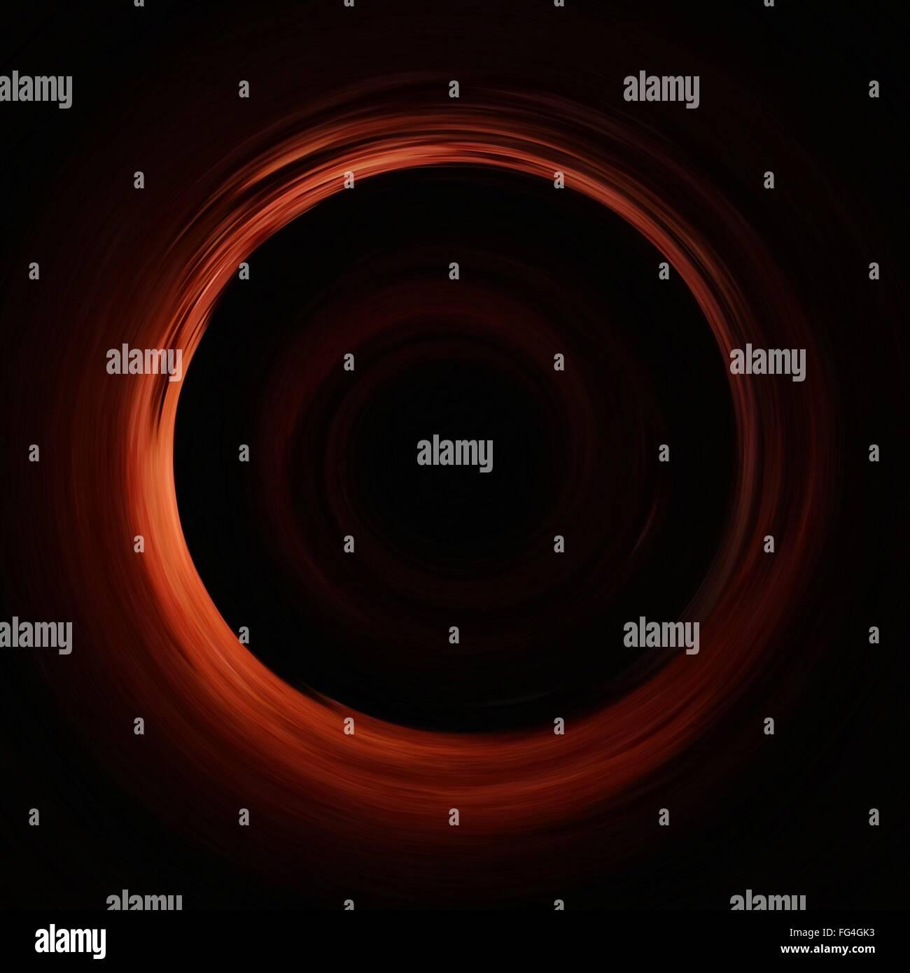Nahaufnahme des abstrakten Kreis Stockbild