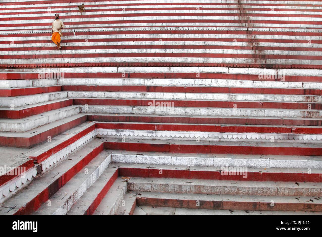 Indien-Streetfotografie und Orte Stockbild