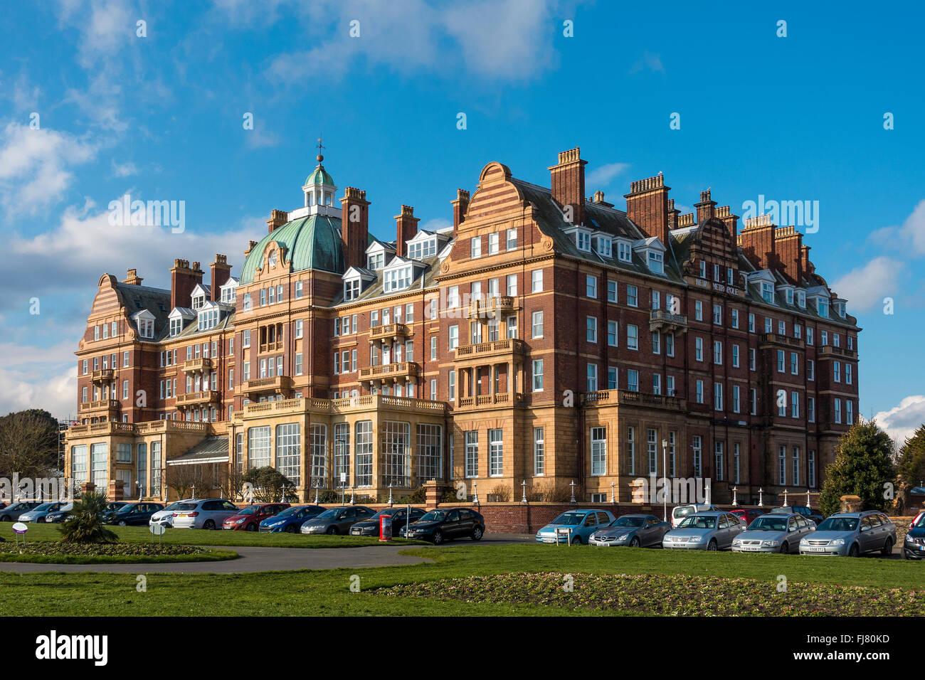 Die neue Metropole der Lees Folkestone Kent Stockbild
