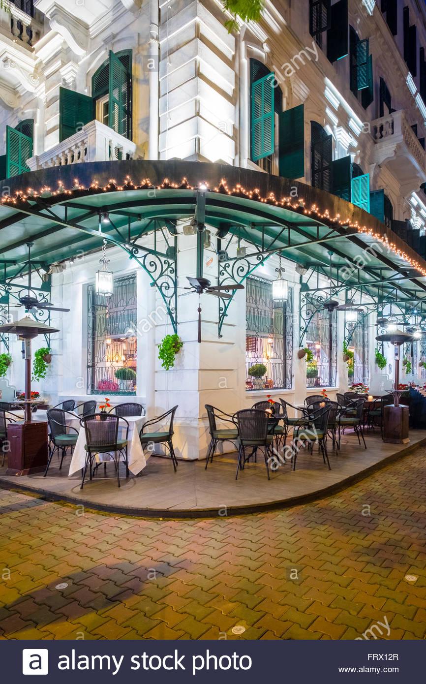 Sofitel Legend Metropole Hotel, Hoan Kiem District, Altstadt, Hanoi, Vietnam Stockbild