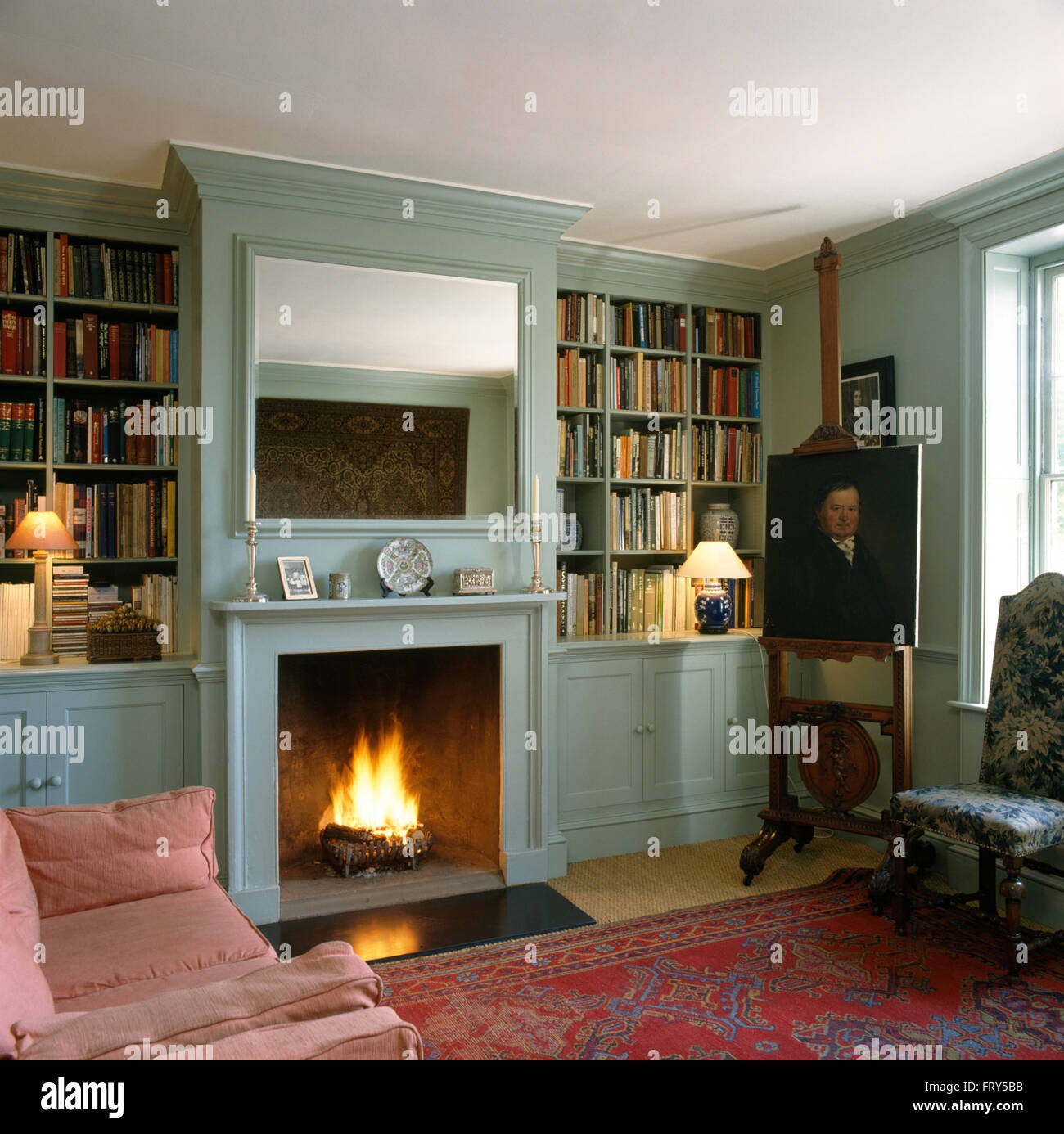 easel sitting stockfotos easel sitting bilder alamy. Black Bedroom Furniture Sets. Home Design Ideas