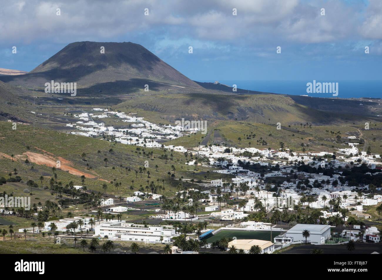 Spanien, Kanarische Inseln, Lanzarote, Haria Stockfoto