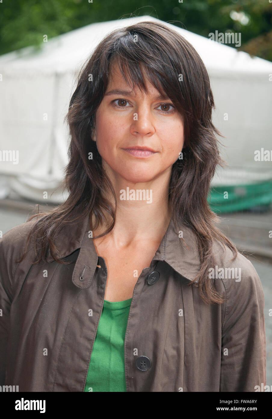 MELINDA KINNAMAN schwedische Schauspielerin am Königlichen Theater Stockbild