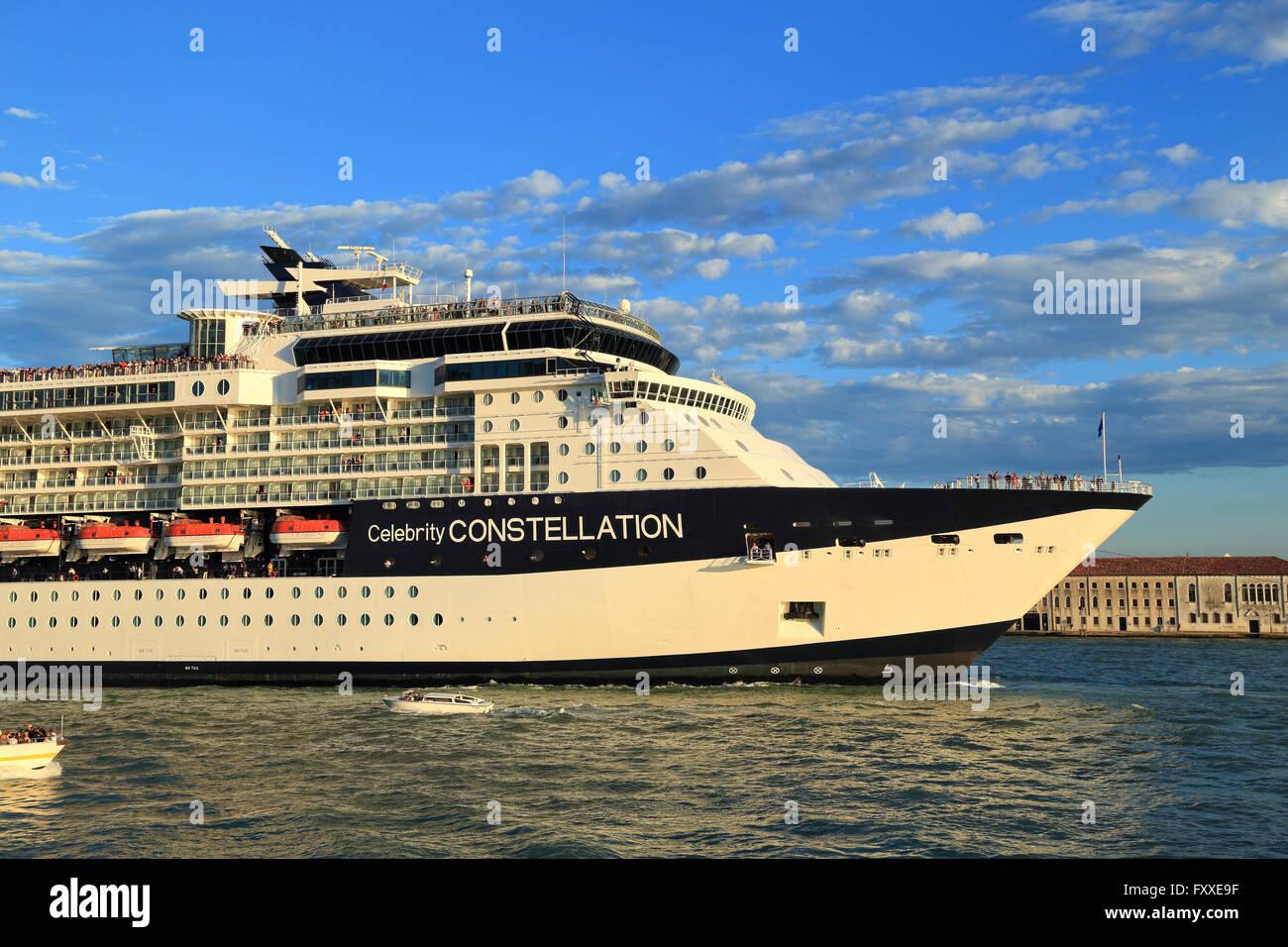 Kreuzfahrtschiff GTS Celebrity Constellation, IMO 9192399 Stockbild