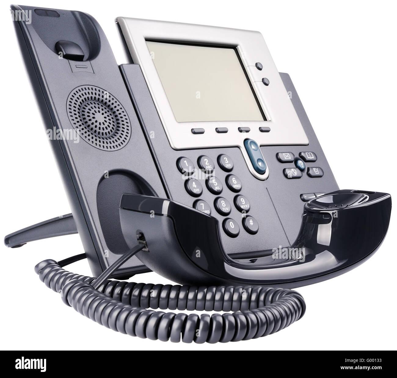 IP-Telefon-set Stockbild
