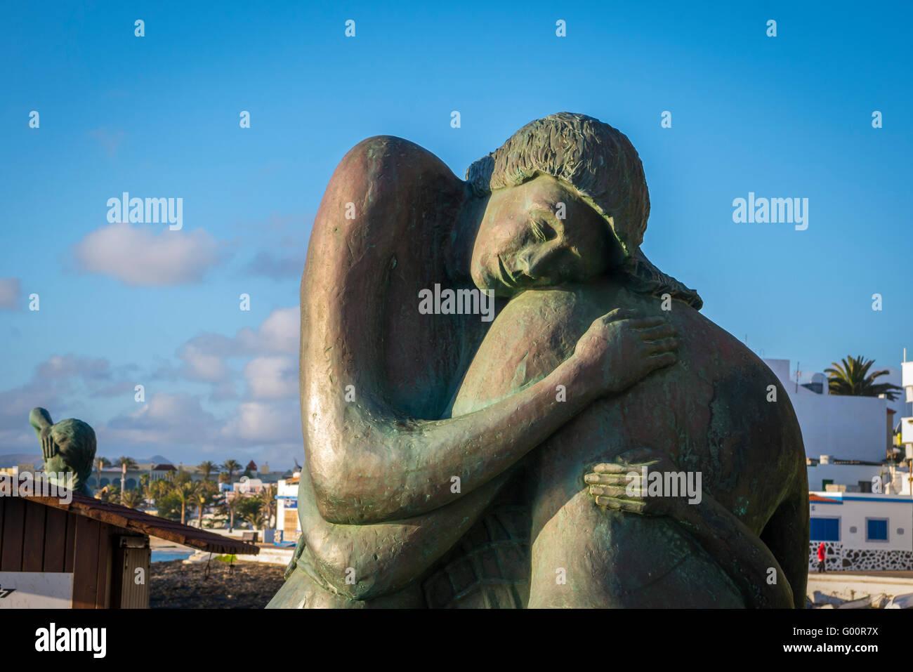 Corralejo Fuerteventura-Kanarische Inseln-Spanien Stockfoto