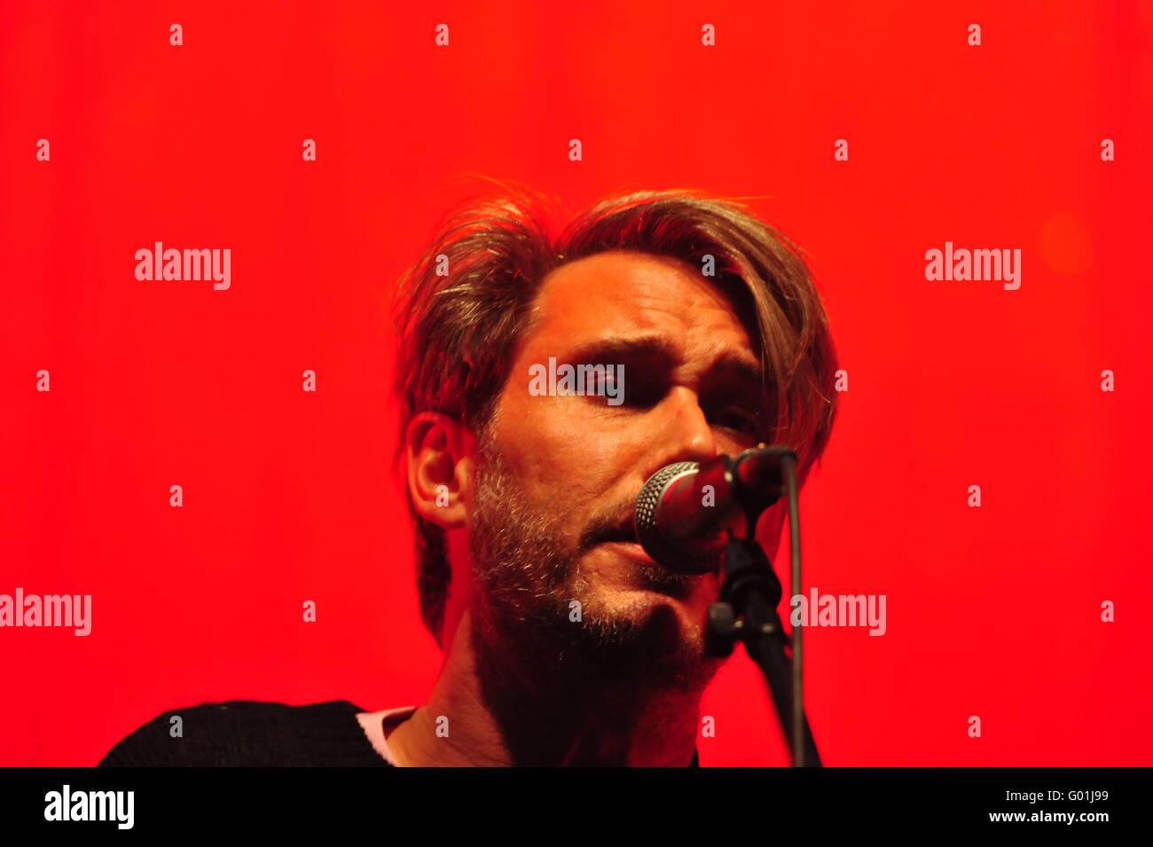 Tocotronic: EUROPA, DEUTSCHLAND, HAMBURG, 17.10.2015: Tocotronic live in der Hamburger Sporthalle. Nur zur redaktionellen Stockbild