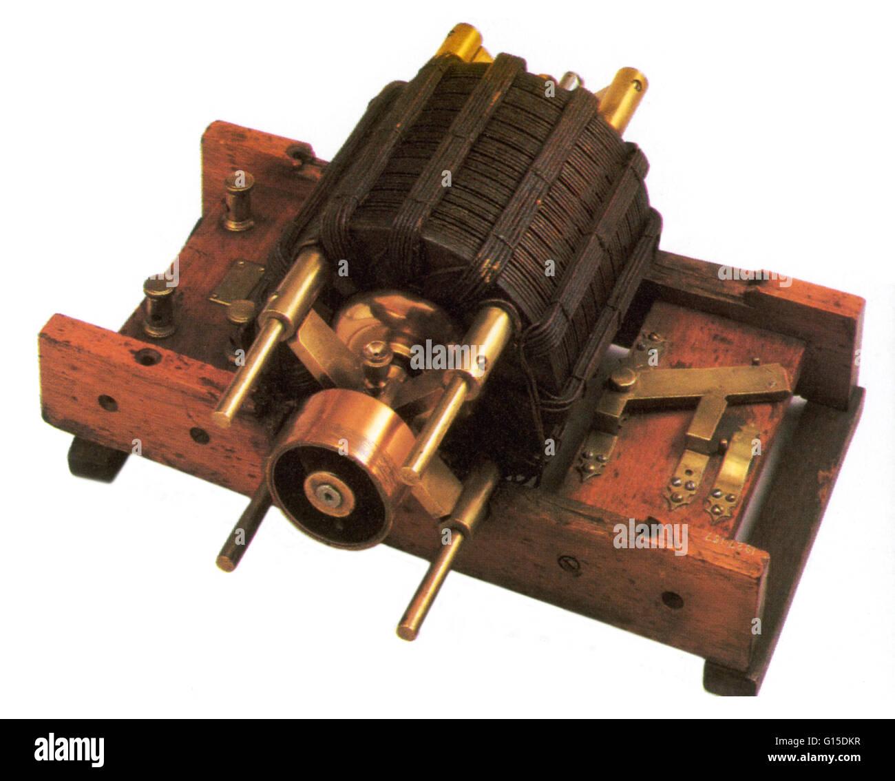 Frühe Induktionsmotor. Stockbild