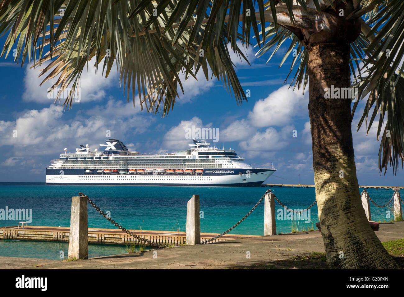 Celebrity constellation Kreuzfahrt Schiff angedockt an frederiksted, St. Croix, US Virgin Islands, West Indies Stockbild