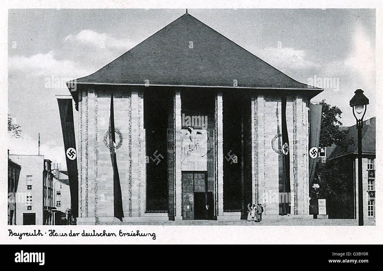 Das Haus der Deutschen Erziehung Haus der deutschen