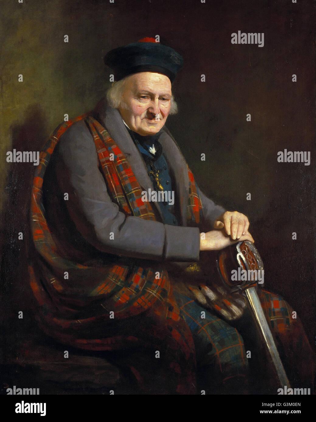 Patrick Grant 1714-1824- Stockbild
