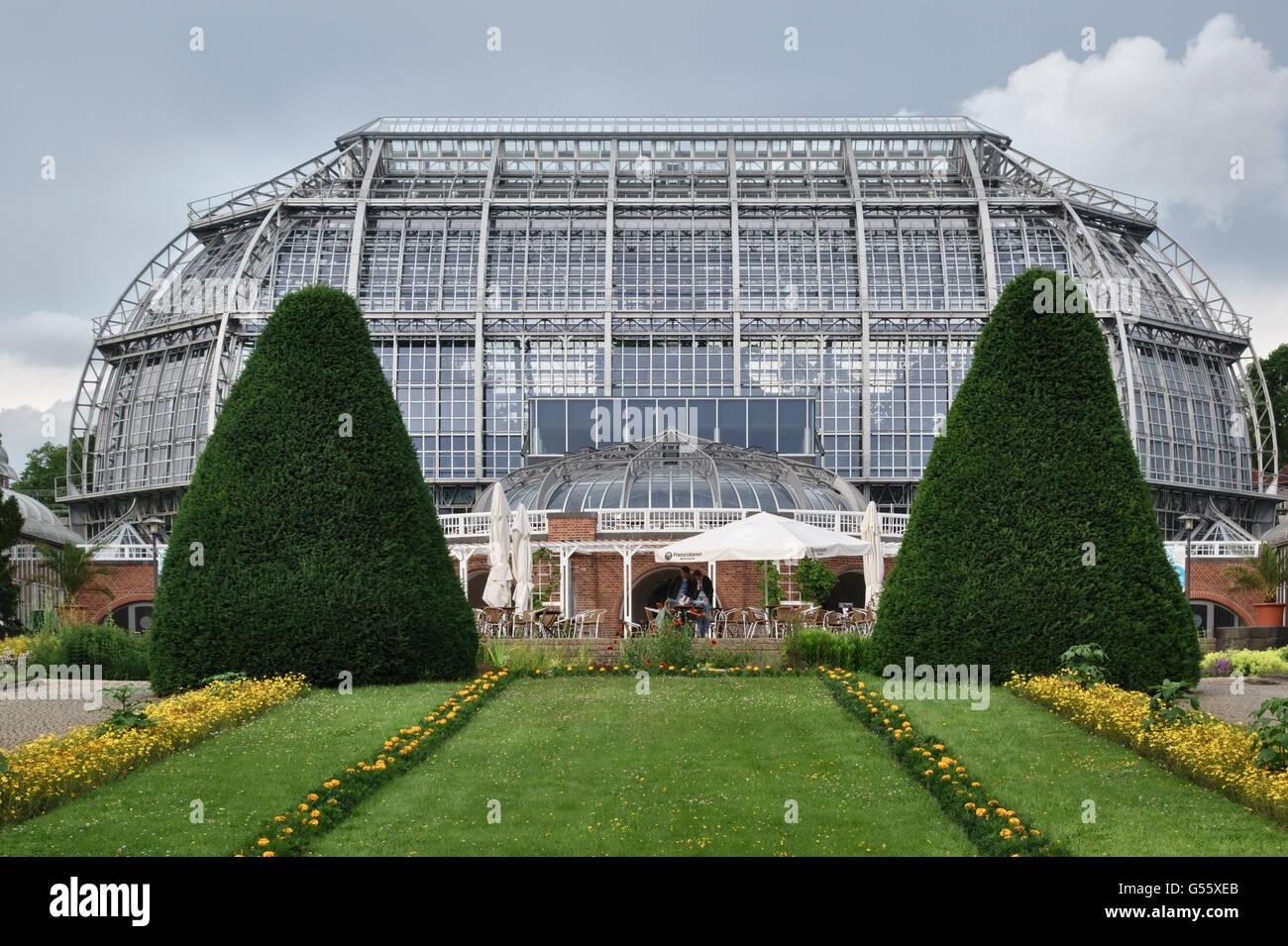 Berlin Deutschland Der Botanische Garten Berlin Dahlem Die