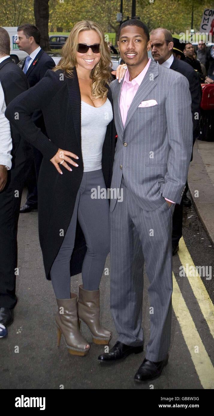 Mariah Carey Sichtung - London Stockfoto