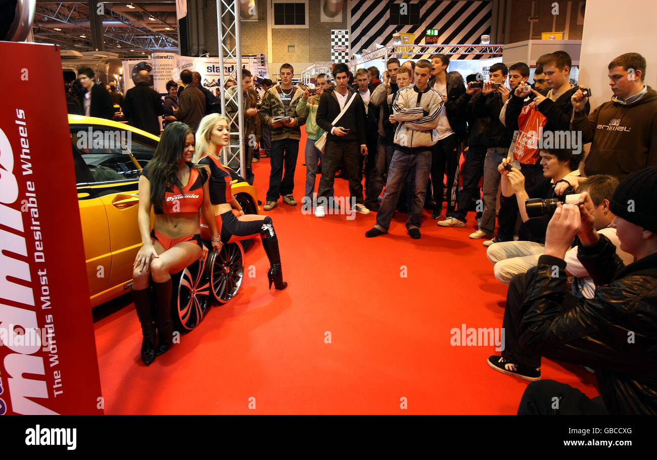 Autosport International show Stockbild