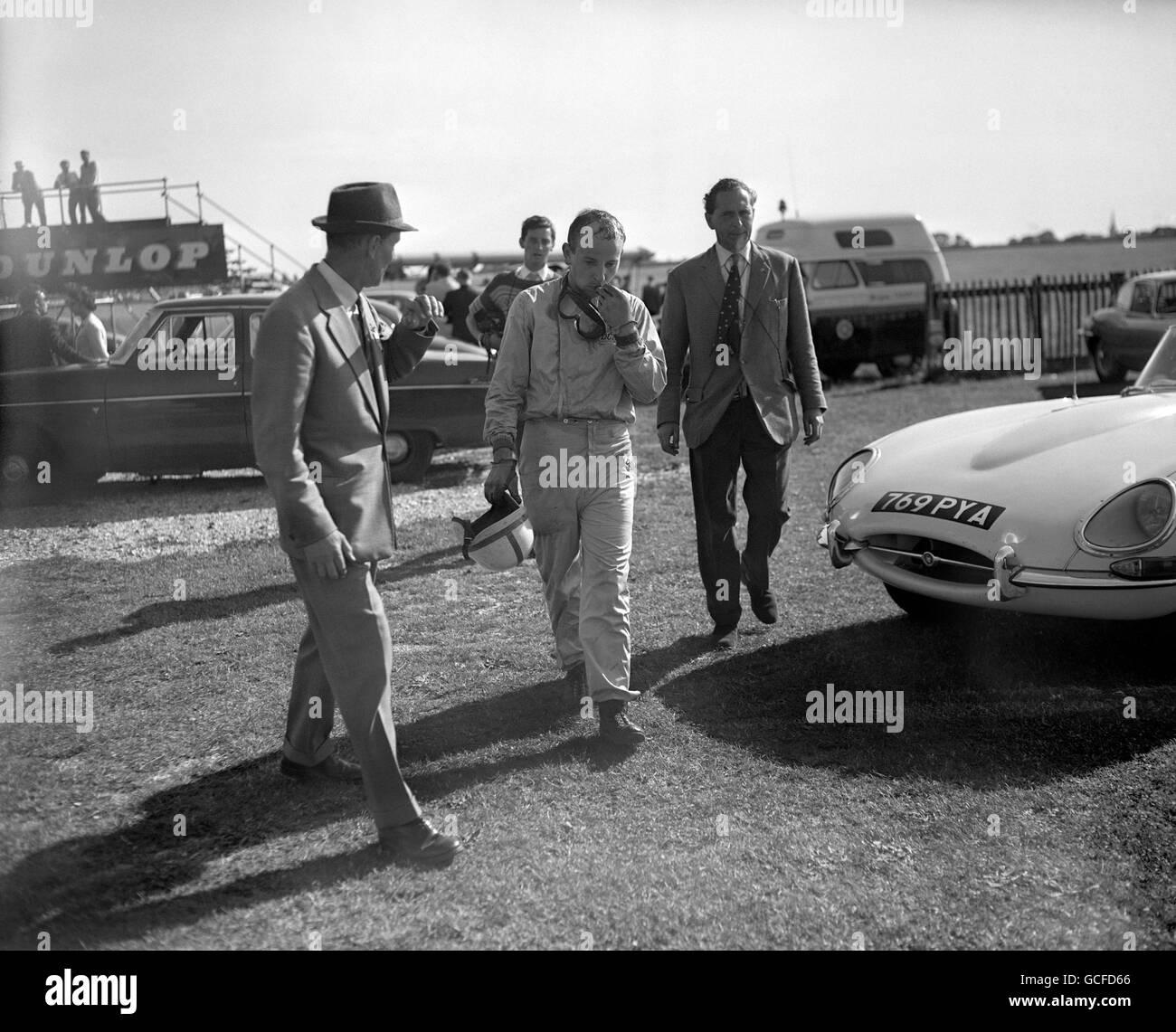 Rennsport - 27. RAC Tourist Trophy Rennen - Goodwood Stockbild