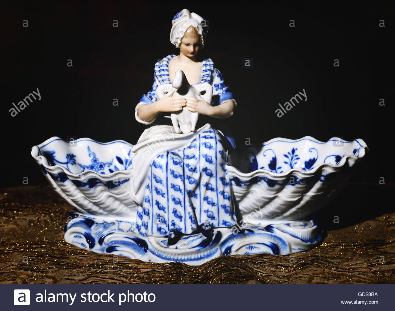 Meissen Porcelain Manufactory Stockfotos & Meissen