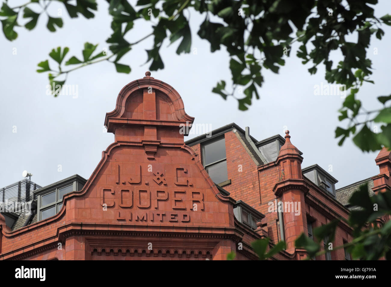Dieses Stockfoto: IJ&C Cooper Limited Gebäude, Sevendale House, 7 Dale Street, Manchester M1 1JA - GJ791A