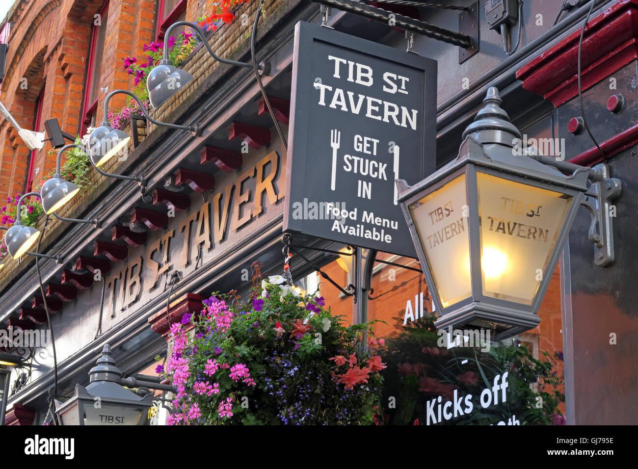 Laden Sie dieses Alamy Stockfoto Die Tib St Taverne, nördlichen Viertel, 74 Tib Street, Manchester, North West England, Großbritannien, M4 1LG - GJ795E