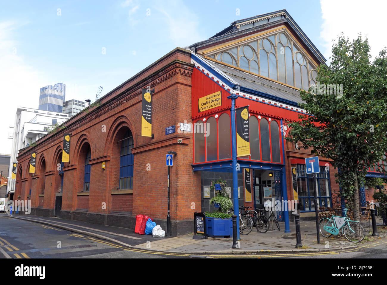Laden Sie dieses Alamy Stockfoto Manchester Handwerk und Design Center, 17 Oak Street, Manchester, M4 5JD - GJ795F