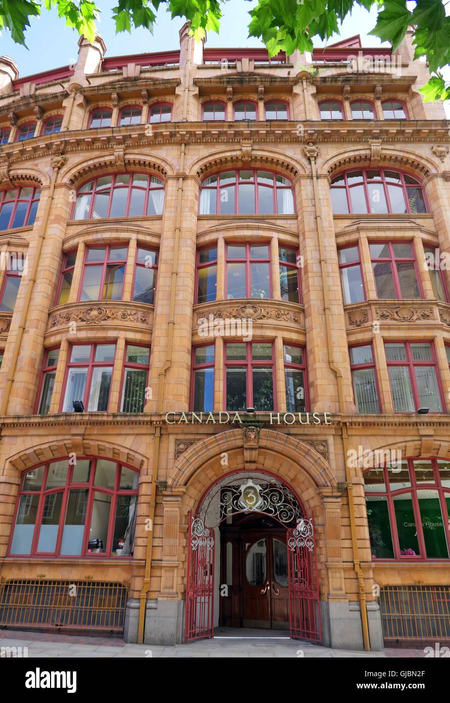 Laden Sie dieses Alamy Stockfoto Kanada Haus, 3 Chepstow St, Manchester, North West England, UK, M 1 5 FW - GJBN2F