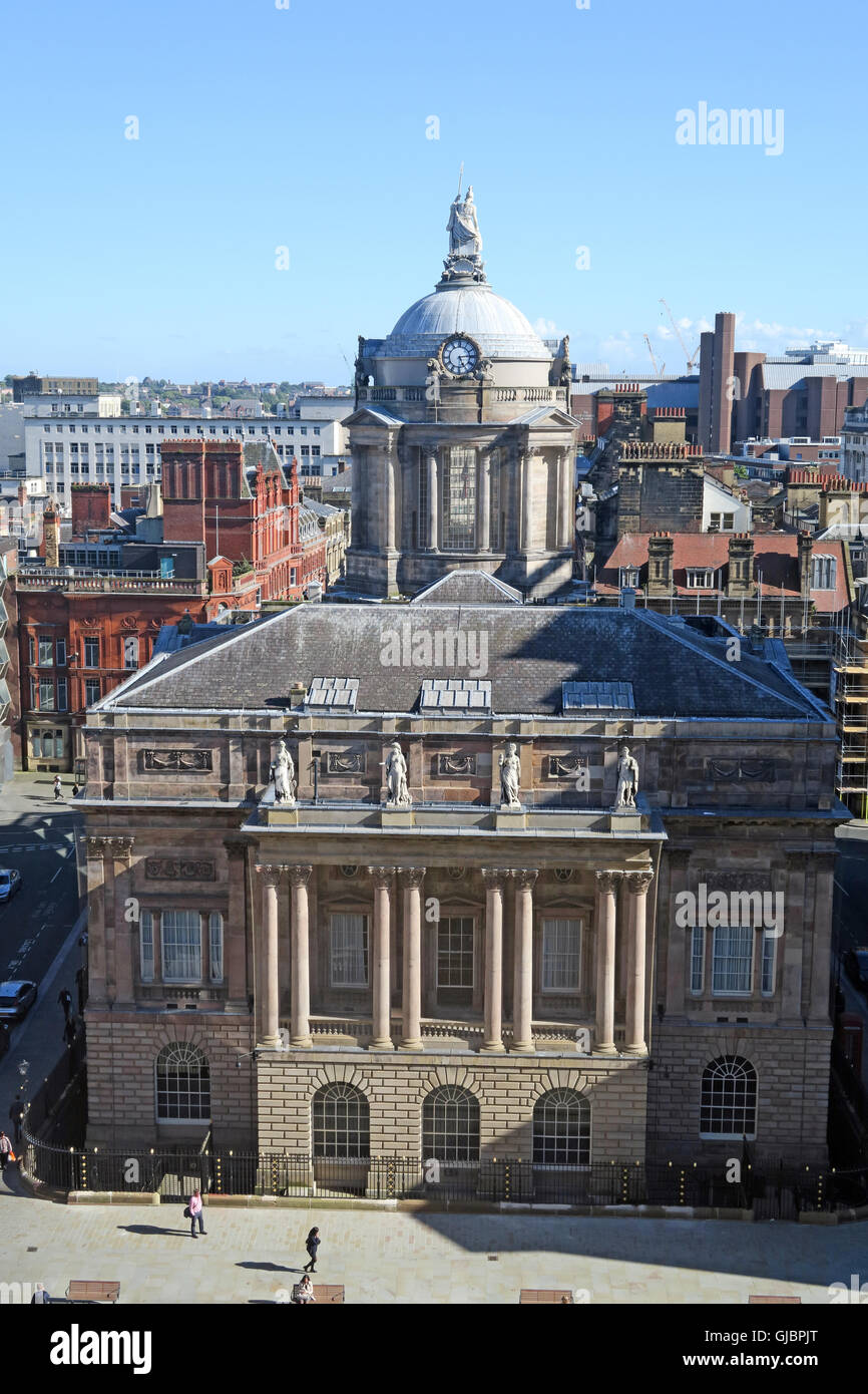 Laden Sie dieses Alamy Stockfoto Liverpool Rathaus, High Street, Liverpool, Merseyside, North West England, L 2 3 SW - GJBPJT