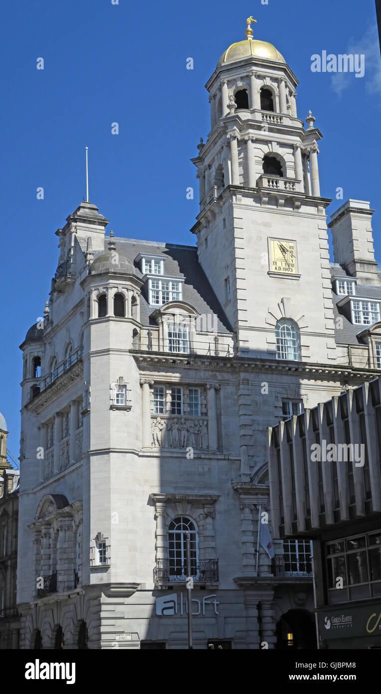 Laden Sie dieses Alamy Stockfoto Royal Insurance Building, Dale Street/North John St, Liverpool, - GJBPM8