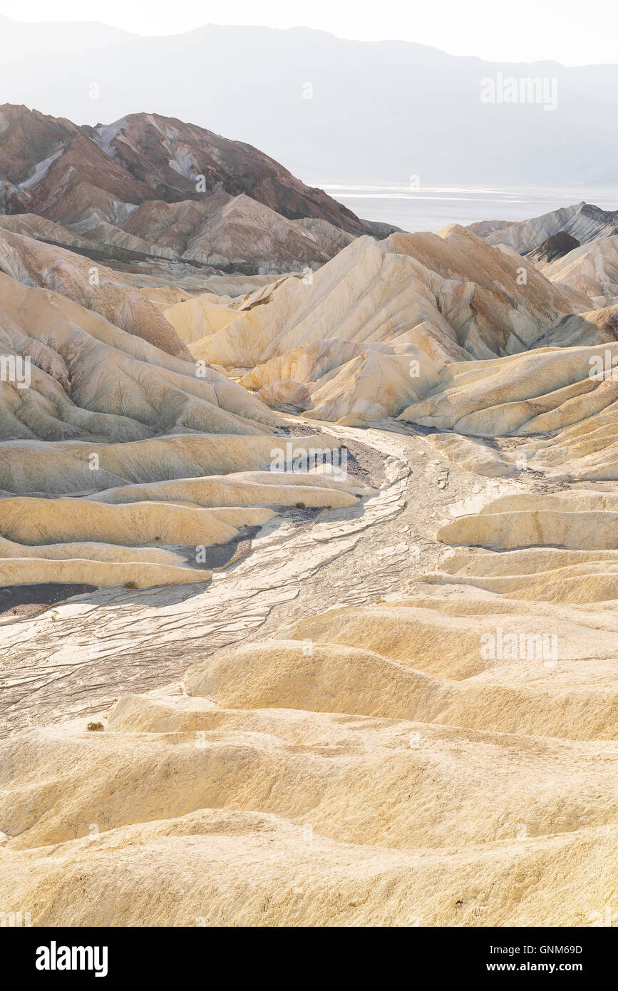 Die Wüste des Death Valley National Park Stockbild