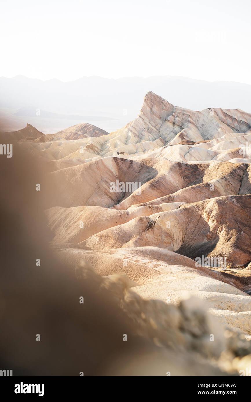 Zabriskie Point in Zion Nationalpark Stockbild