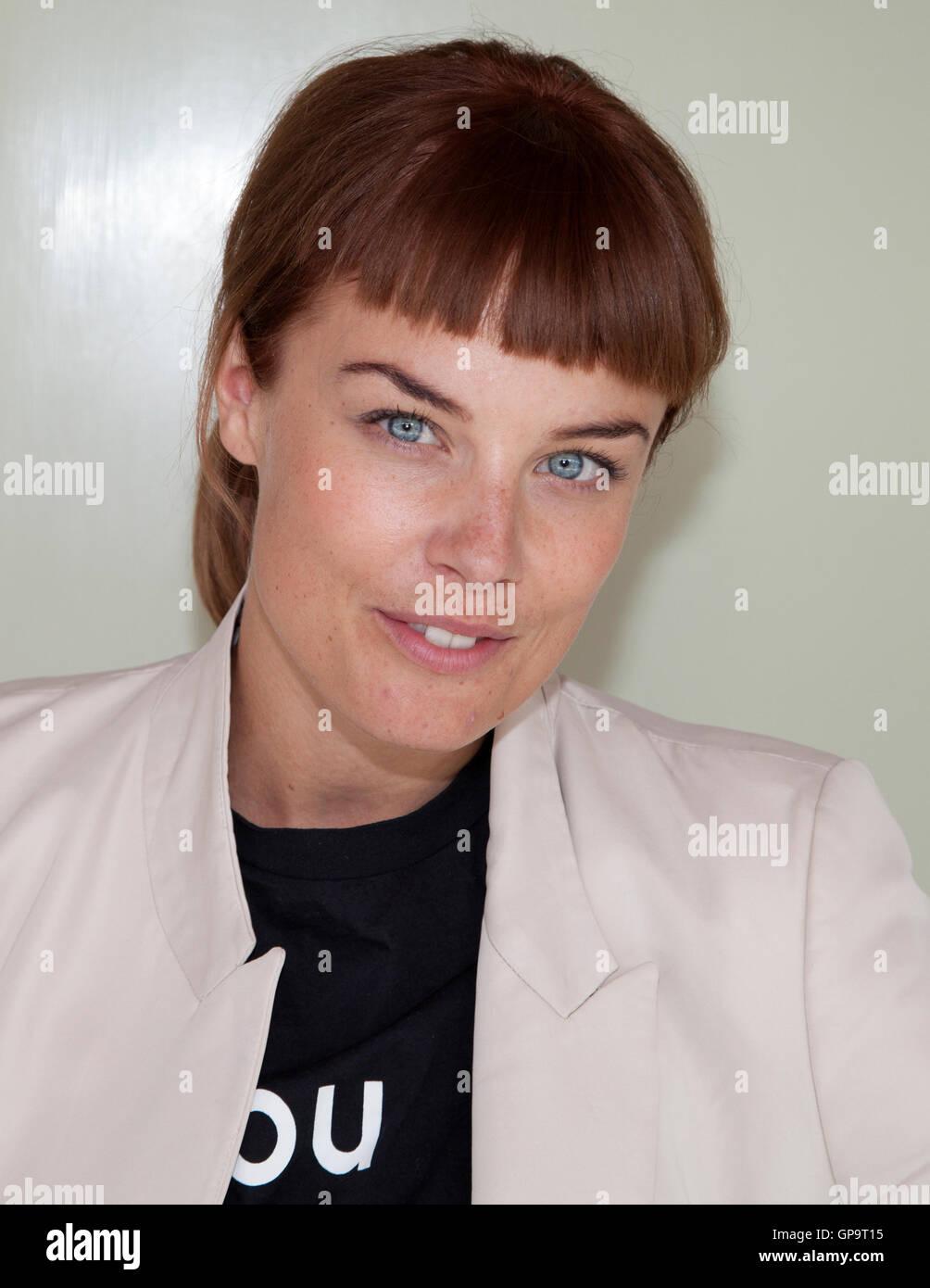 IDA ENGVOLL Schauspielerin Stockbild