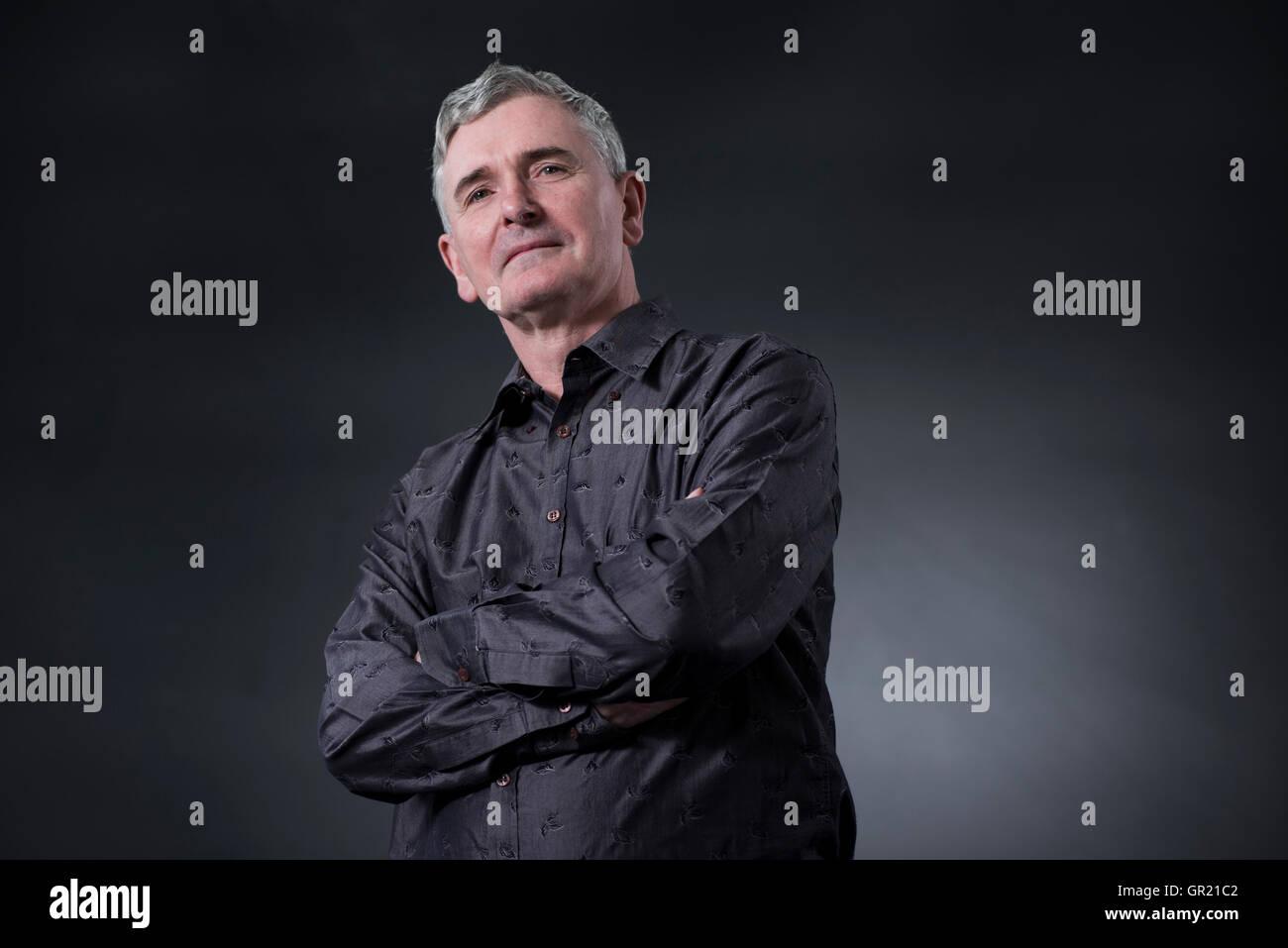 Britischer Autor von Comics, Romane und Filme M R Carey. Stockbild