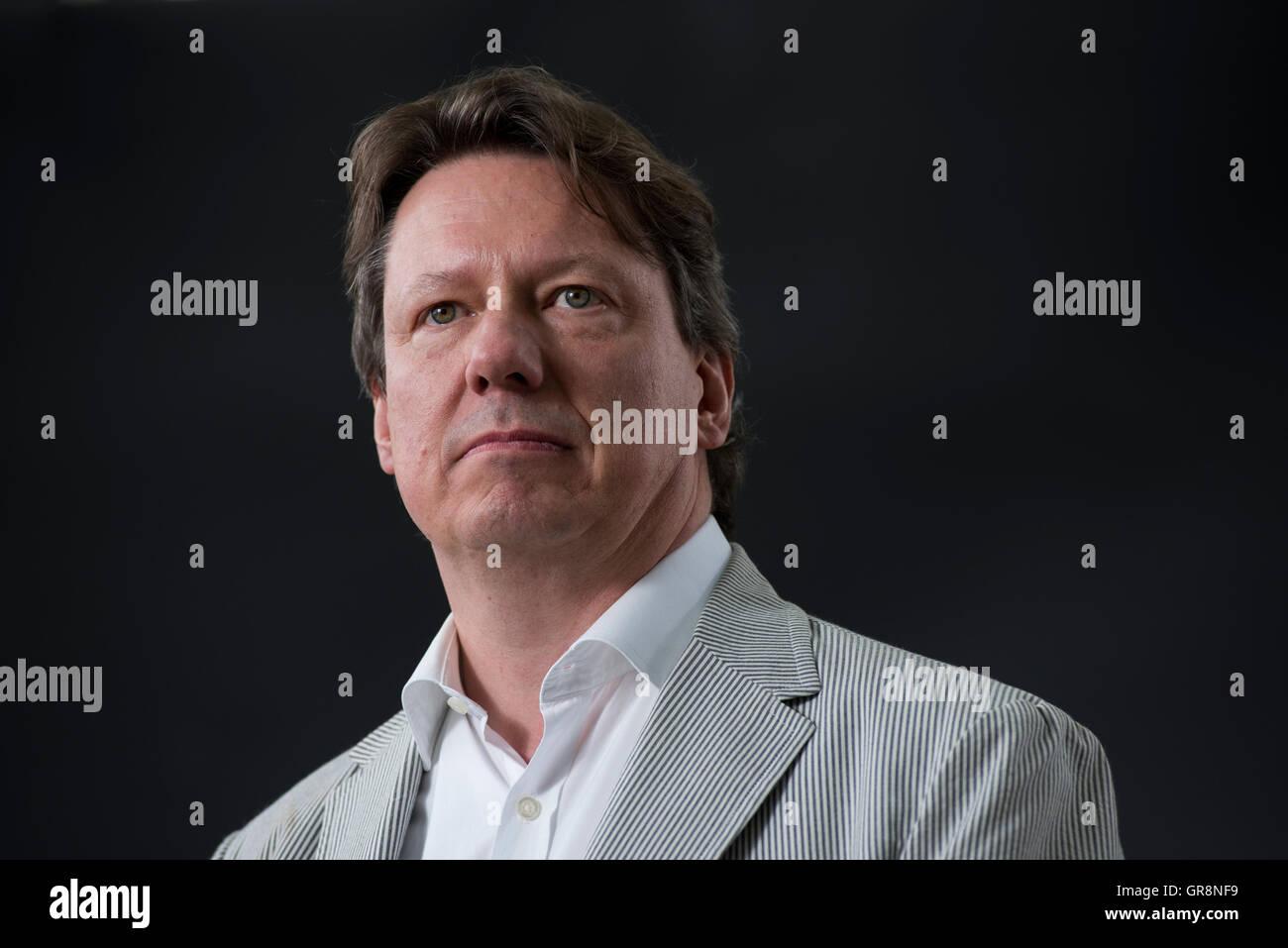 Autor und Biograf Donald Sturrock. Stockbild