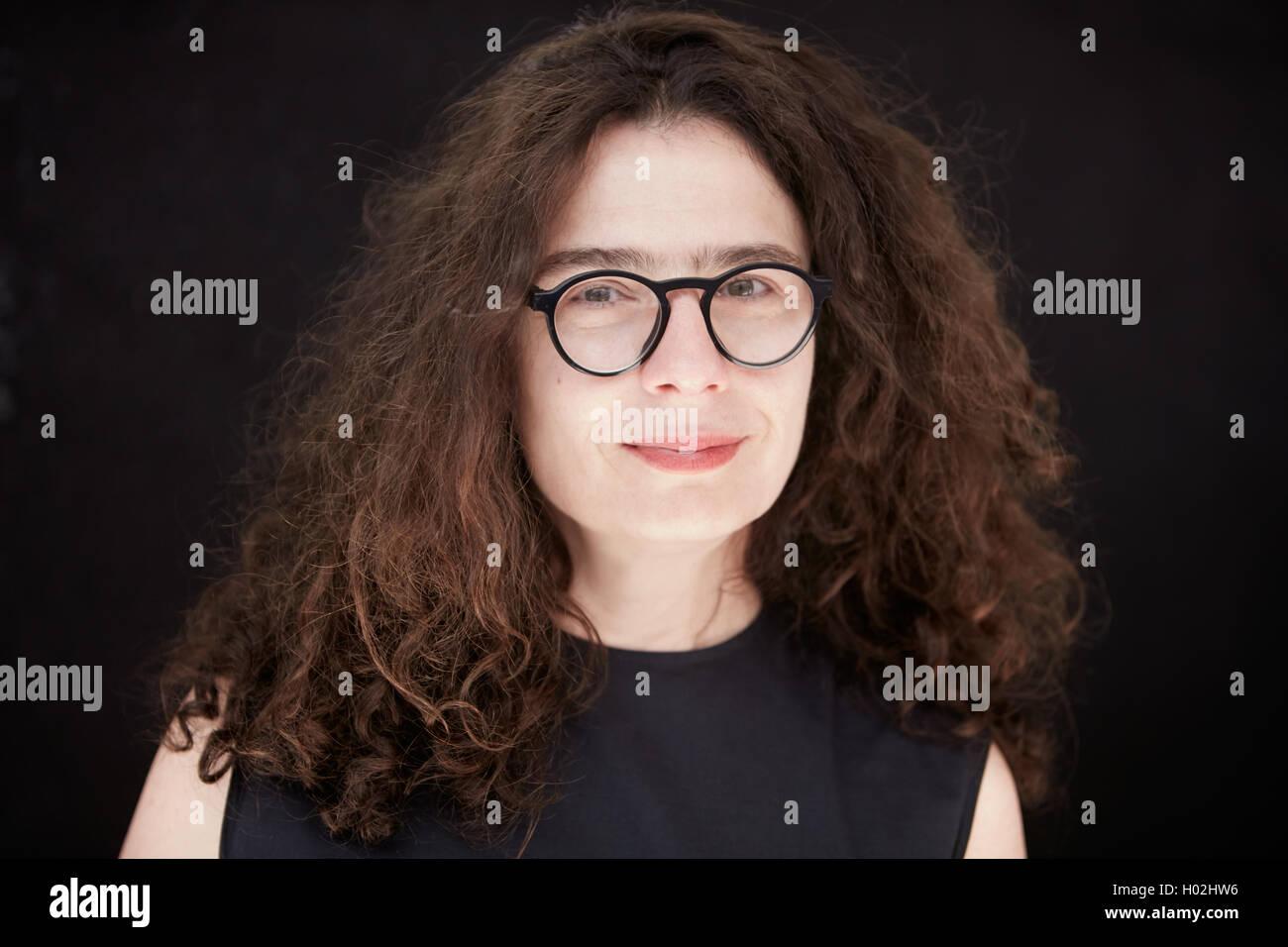 Arsinée Khanjian, Schauspielerin und Filmproduzentin, gesehen bei Festival in Italien ab Juli 2016 Stockbild