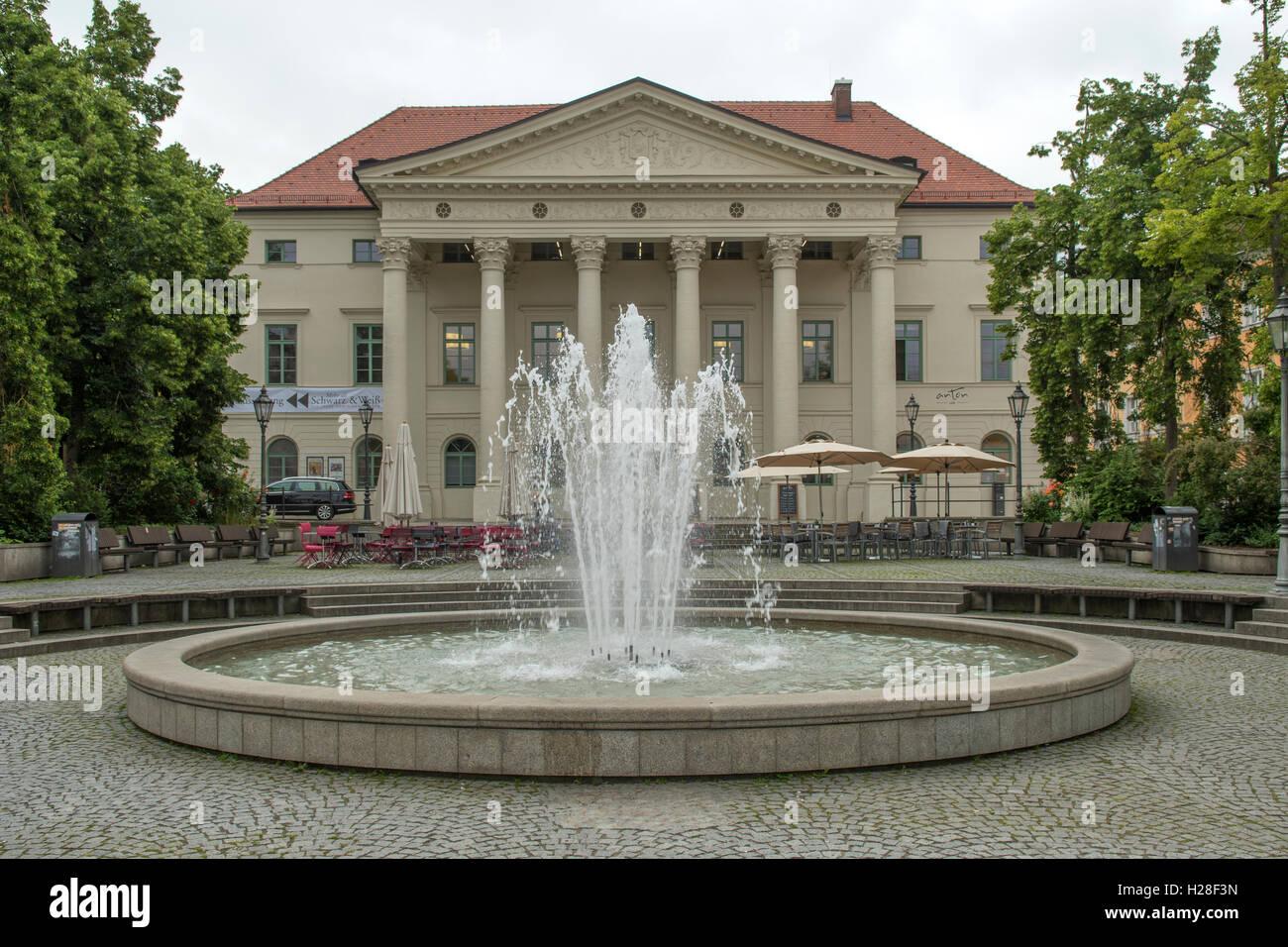 Haus der Musik, Regensburg, Bayern, Deutschland Stockbild