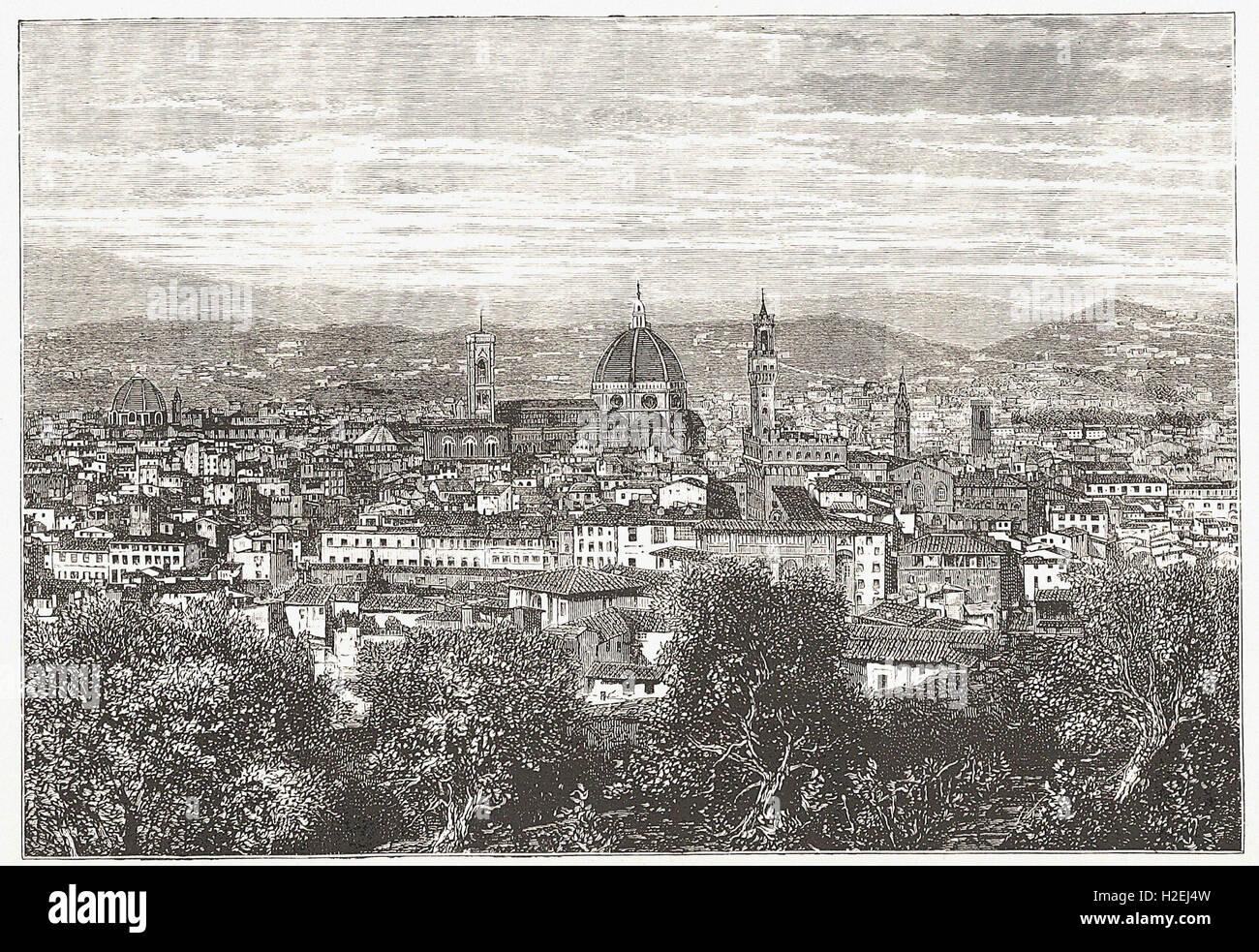 """-von """"Illustrated Cassell es Universalgeschichte"""" - 1882 Stockbild"""