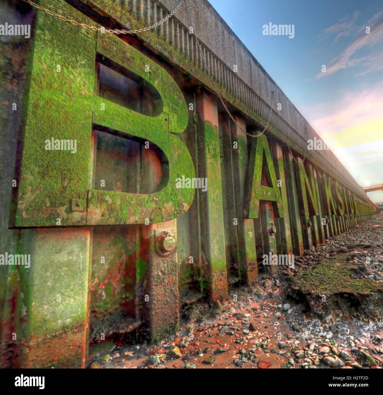 Laden Sie dieses Alamy Stockfoto Londoner Bankside von Themse, Southwark - H2TF2D