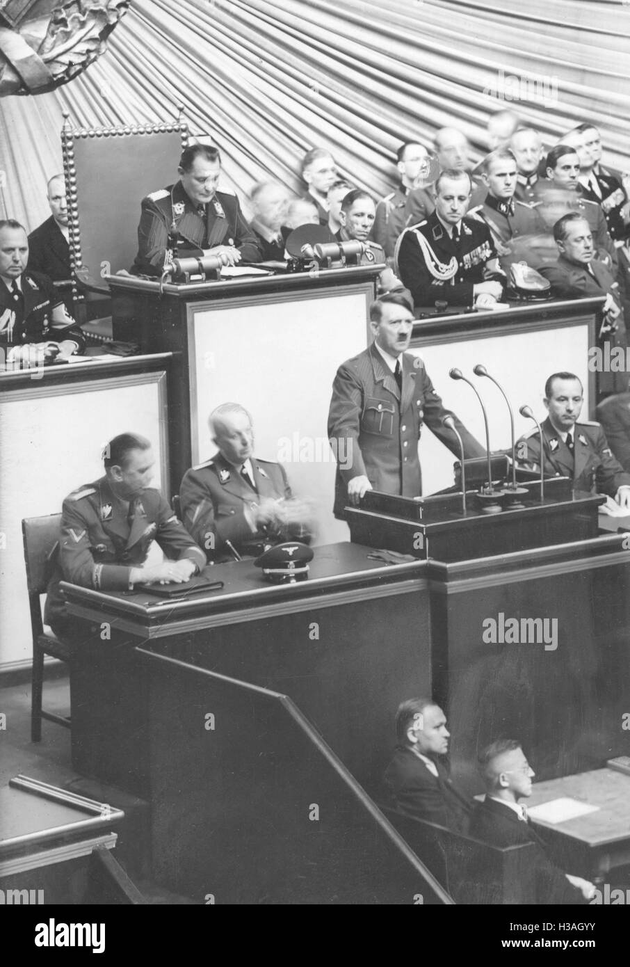 an analysis of the september 1 1939 speech by neville chamberlain to the house of commons We show that neville chamberlain grappled with a classic dilemma of  to adopt  cost-minimising strategies like appeasement (see table 1)  seats won in  house of commons (percentage of popular vote in  as late as the day after the  invasion of poland in september 1939, chamberlain's diary letters.