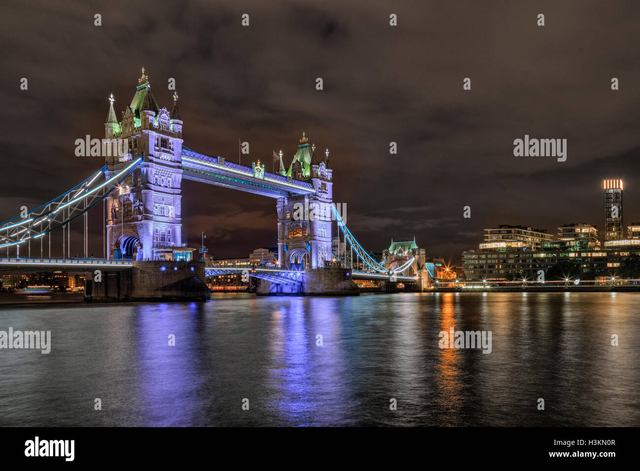 Tower Bridge, London, England, UK Stockbild