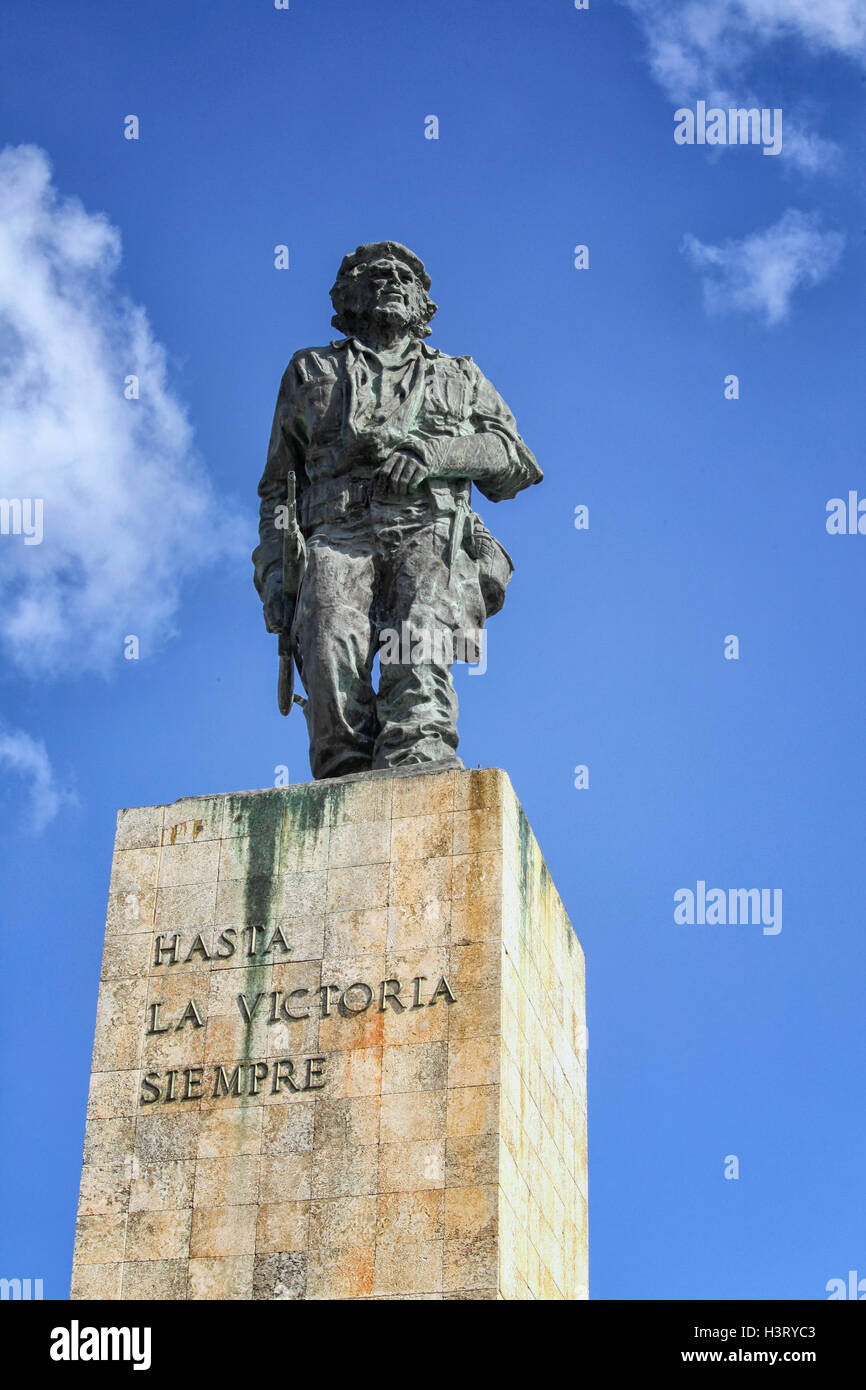 Che-Guevara-Denkmal, Plaza De La Revolution in Santa Clara, Kuba Stockbild