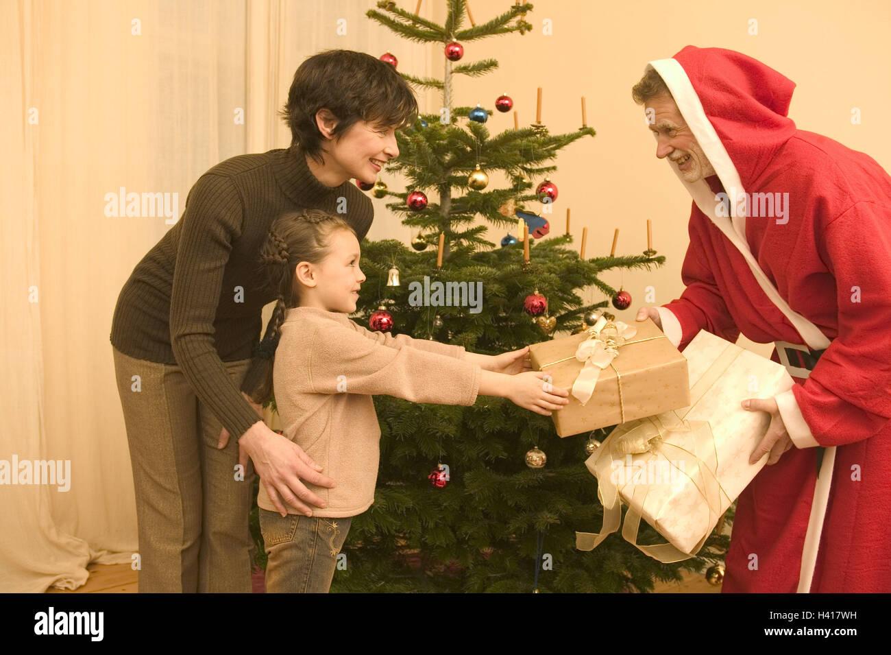Weihnachten, Aufenthaltsräume, Vertrieb Geschenke, Vater, Futter ...