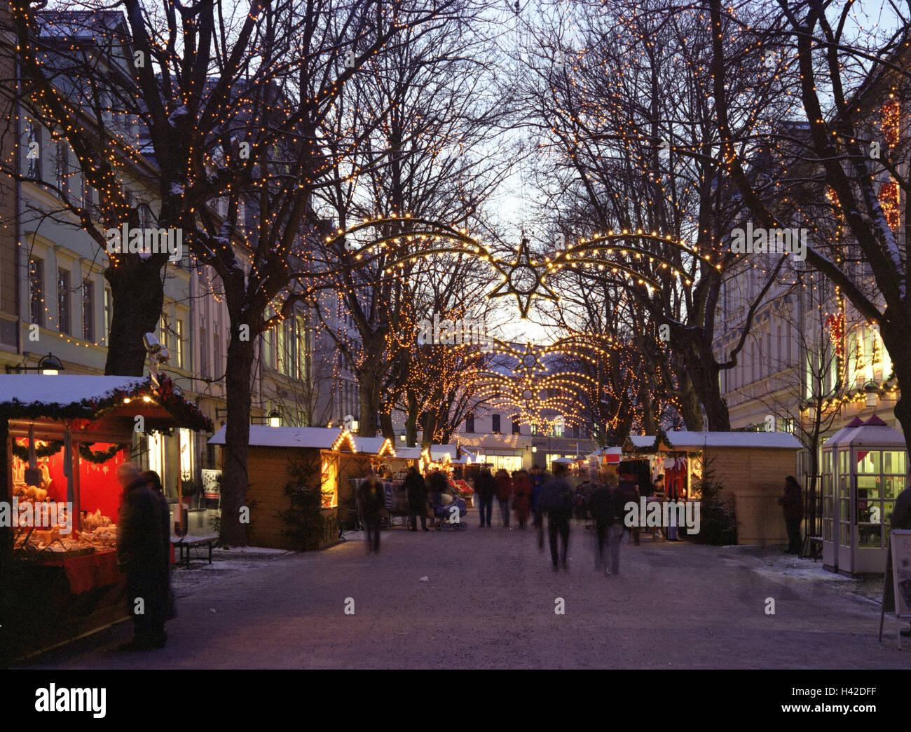 christmas market in weimar stockfotos christmas market. Black Bedroom Furniture Sets. Home Design Ideas