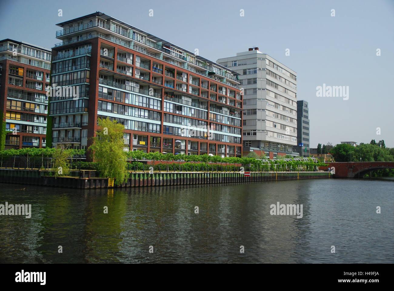 deutschland berlin spree bogen hausfassaden kapital berlin charlottenburg h user. Black Bedroom Furniture Sets. Home Design Ideas