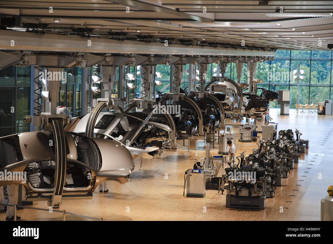 VW-Herstellung, Produktion, Dresden, Sachsen, Deutschland Stockbild