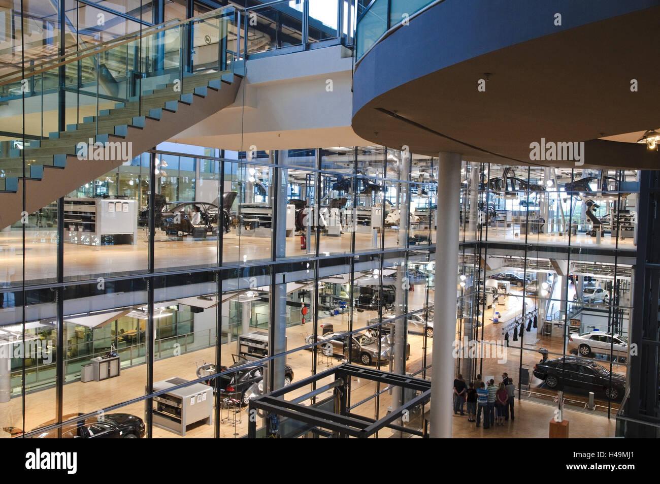 VW Herstellung, Dresden, Sachsen, Deutschland, Stockbild