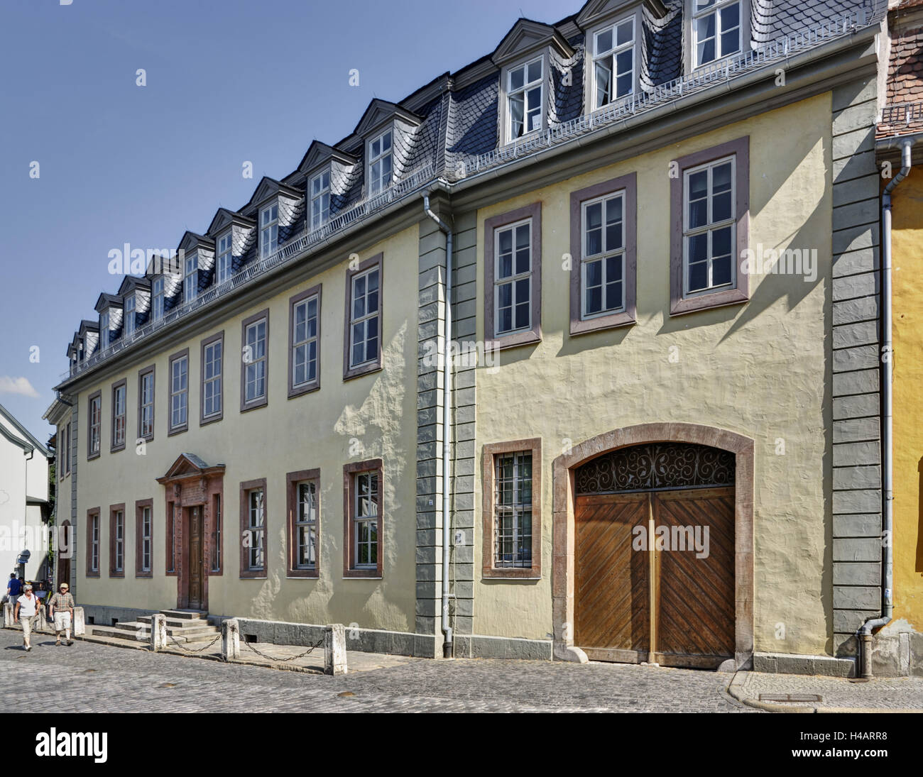goethe house and museum stockfotos goethe house and museum bilder alamy. Black Bedroom Furniture Sets. Home Design Ideas