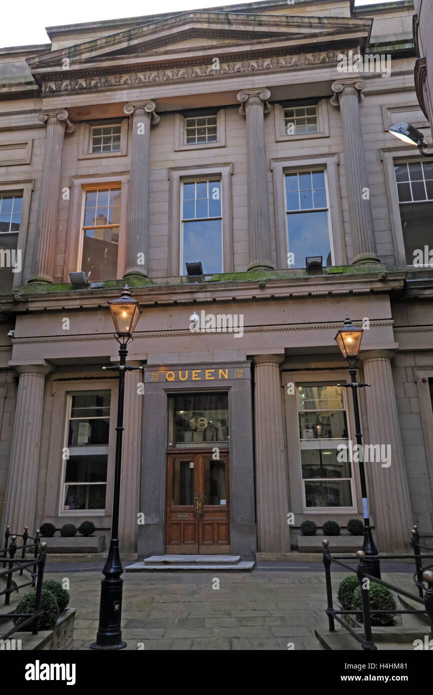 Laden Sie dieses Alamy Stockfoto Queen-Versicherung Gebäude, Königin Allee, Schloss St, Liverpool, England, UK - H4HM81